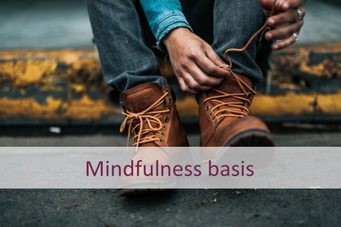 Afbeelding mindfulness basis b